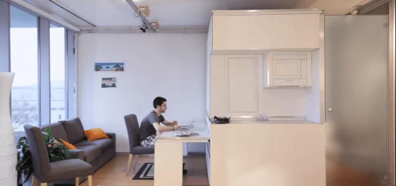 VIDEO. Așa ar putea arăta apartamentul viitorului