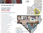 Apartament cu 1 cameră pe Str. Drumul Viilor 38 (versiunea model)